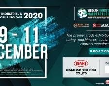 Makitech tham gia hội chợ Triển Lãm Công Nghiệp và Sản Xuất (VIMF) 2020 tại Hải Phòng