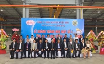 Công Ty TNHH Makitech Việt Nam khánh thành nhà máy số 4